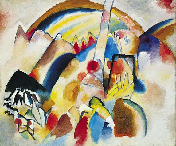 Wassily Kandinsky, Landscape with Red Spots, 1913.