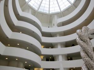 Atrium, Solomon R. Guggenheim Museum, Manhattan, New York, 1959