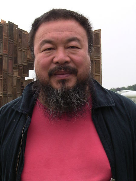 Photograph of the artist Ai Weiwei