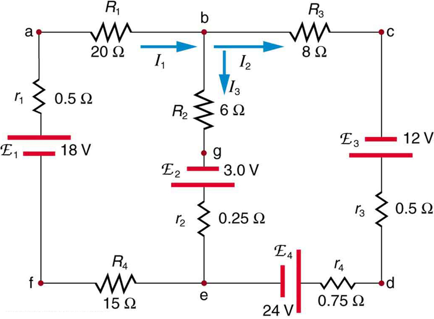 kirchhoff s rules physics rh courses lumenlearning com Series Circuit Diagram Series Circuit Diagram