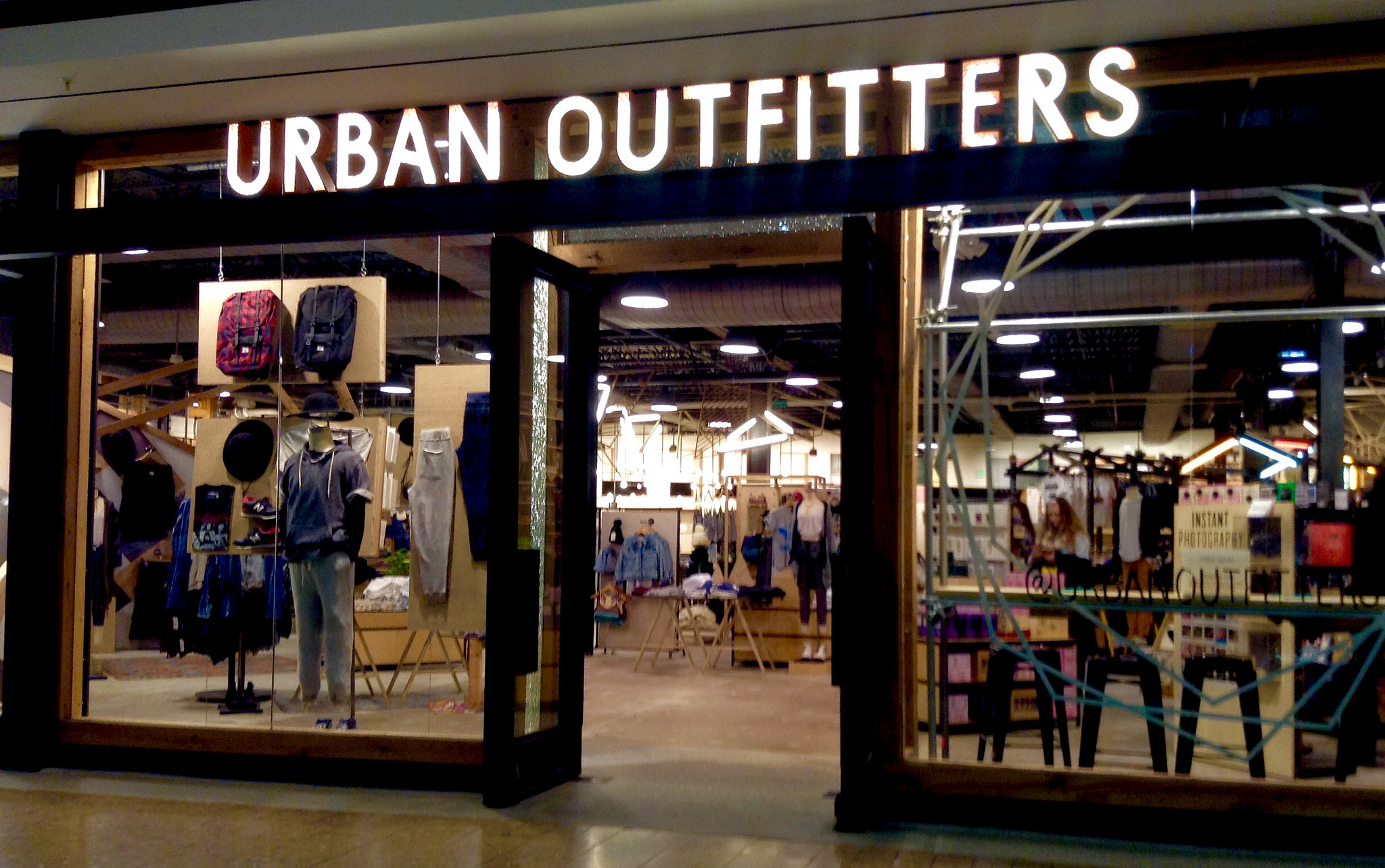 Urban outfitters clothing stores