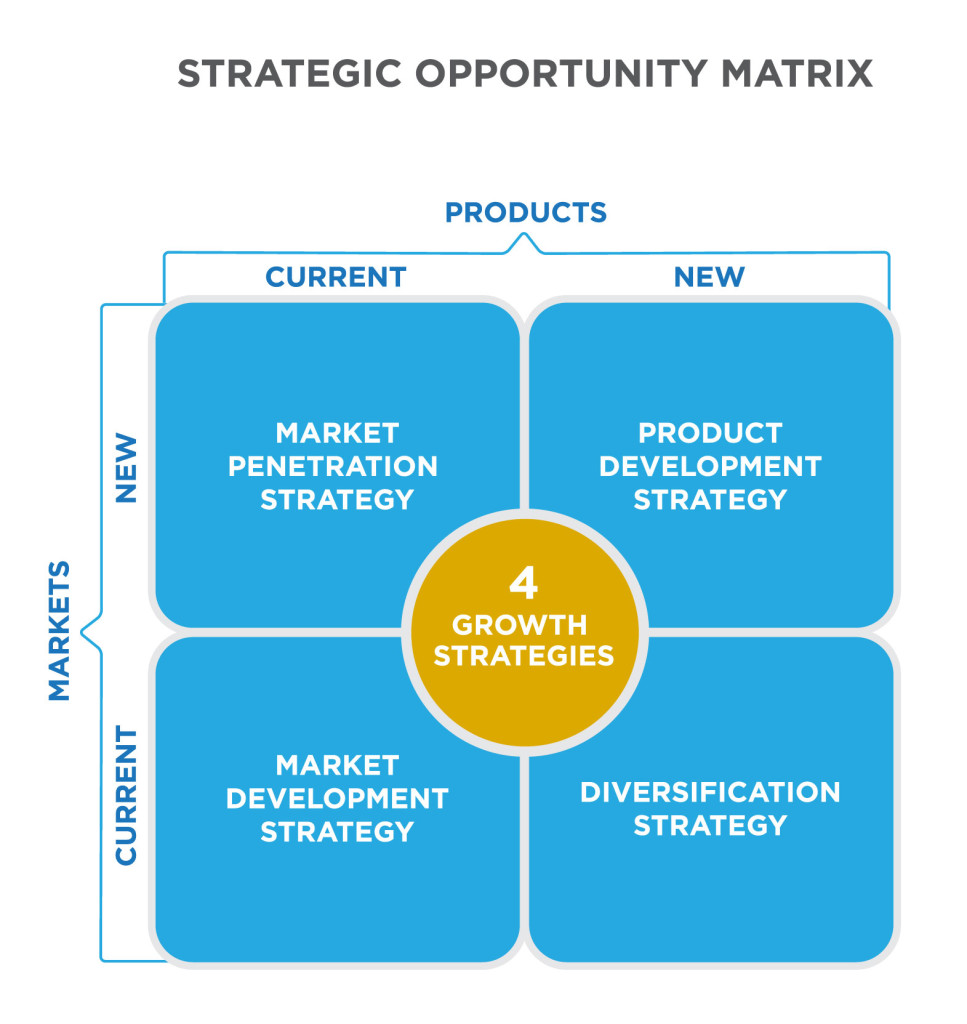 Strategic opportunity matrix principles of marketing for Product design strategy