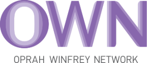 "Oprah Winfrey Network logo: the word ""OWN"" is in large purple letters."