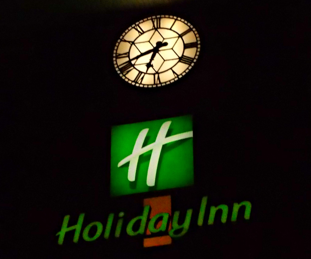 Sign for Holiday Inn
