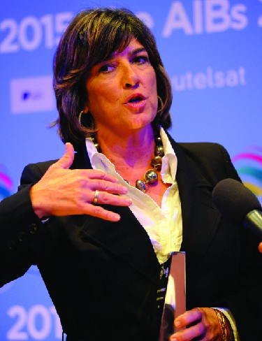 An image of Christiane Amanpour.