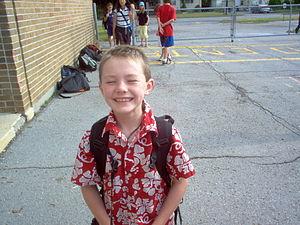 Cute little kid in schoolyard.JPG