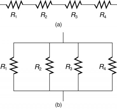 resistors in series and parallel physics rh courses lumenlearning com