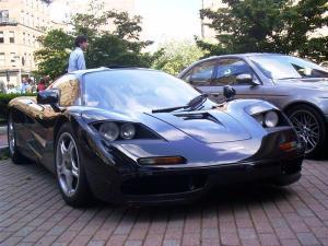 A McLaren Honda sports car.