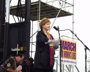 Bonnie Franklin speaking