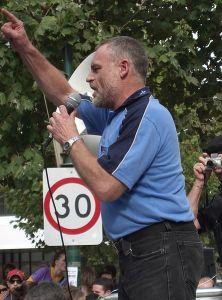 Martin Kingham speaking