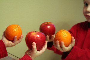 Comparing applies and oranges