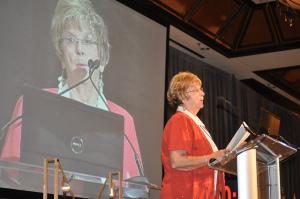 Carol Shafto speaking