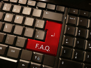 FAQ Button on Keyboard