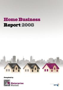 Home Business Report Cover