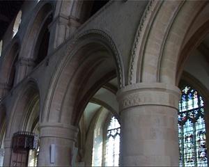 Romanesque-arcade-southwell