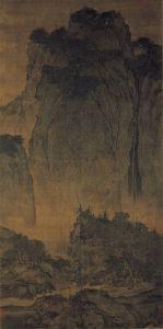 Fan_Kuan_-_Travelers_Among_Mountains_and_Streams_-_Google_Art_Project (1)