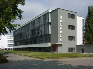 Bauhaus (built 1925–26) in Dessau, Germany