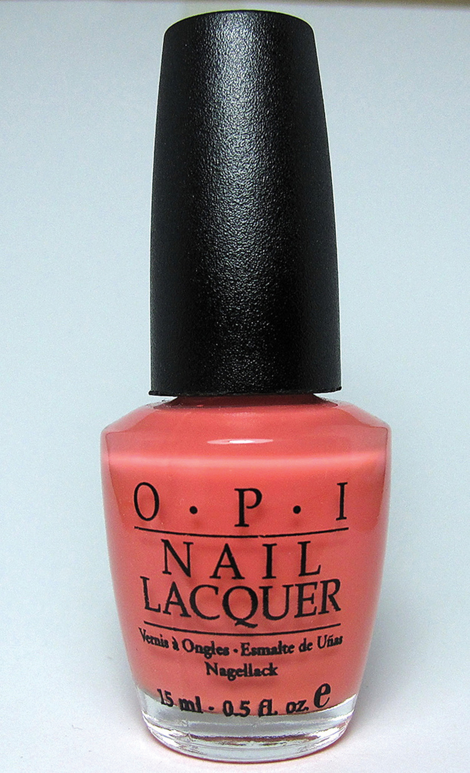 Image of a OPI Nail Lacquer bottle.