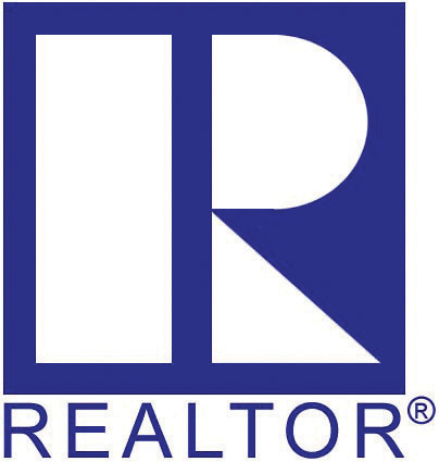 "Large Image of the letter ""R"" with the word Realtor below it."