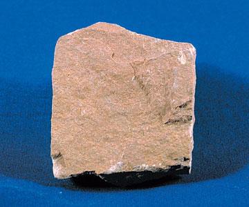 Siltstone, uma pedra de grão fino