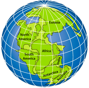 map of all continents together Continental Drift Geology map of all continents together