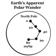 Vagar polar aparente da Terra