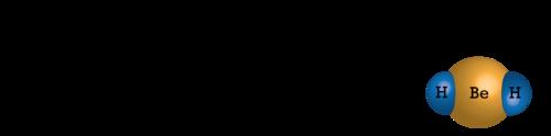 Beryllium hydride has an incomplete octet