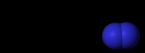 Structure of nitrogen gas