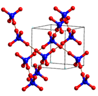 Molecular crystals, such as ice, have relatively low melting points and weak intermolecular forces