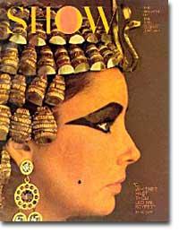 Liz Taylor as Cleopatra