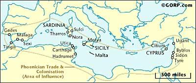 """The Phoenician """"Empire"""""""