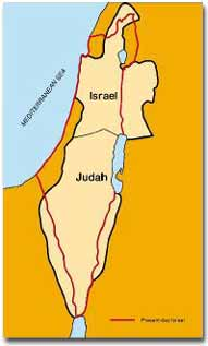 Ancient Israel divided