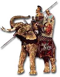 Alexander's war elephants