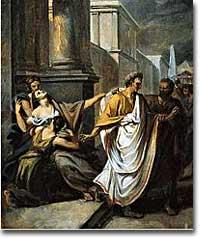 Caesar leaves his wife