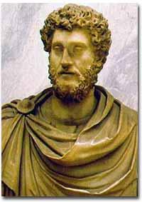 Marcus Aurelius, the Stoic Roman emperor