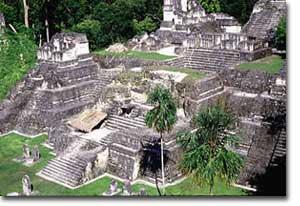 Tikal, the Great Plaza
