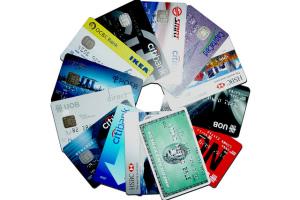 Ring of credit cards