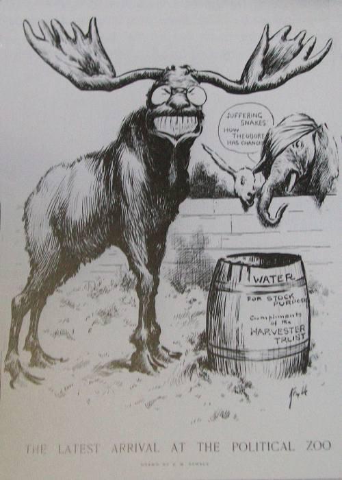 Progressive Reformers Political Cartoon