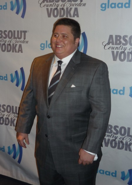 Photo of Chaz Bono in a suit and tie