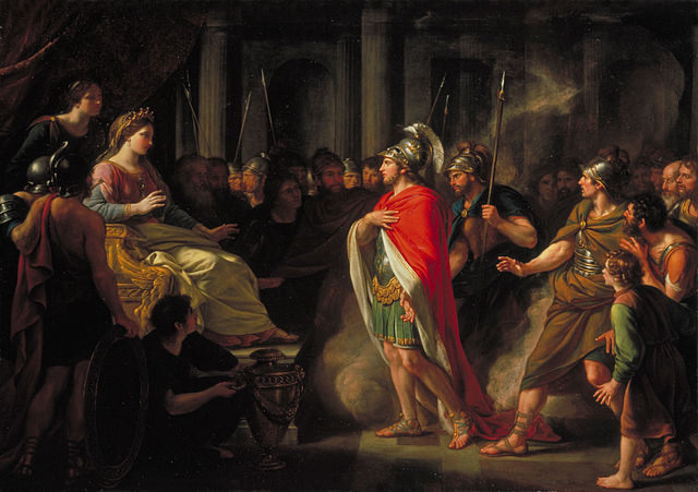 Figure 1. The Meeting of Dido and Aeneas by Nathaniel Dance-Holland