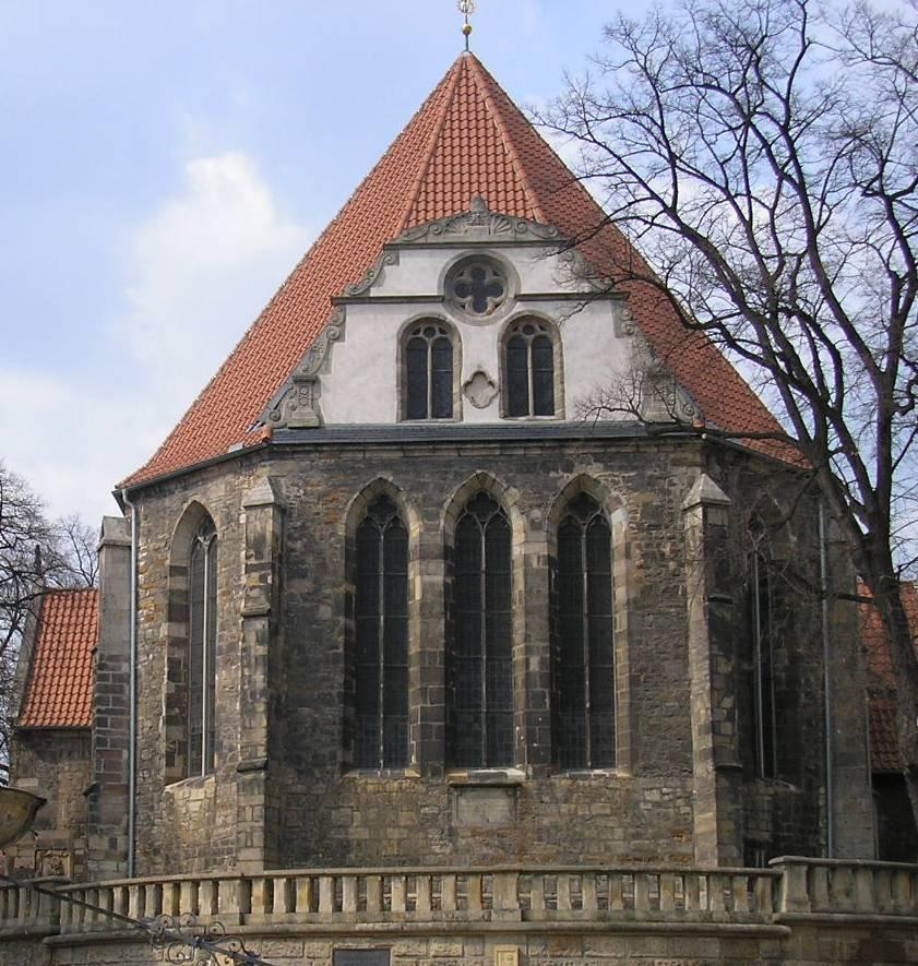 Figure 1. St. Boniface's Church, Arnstadt