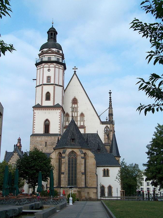 Figure . St. Thomas Church, Leipzig