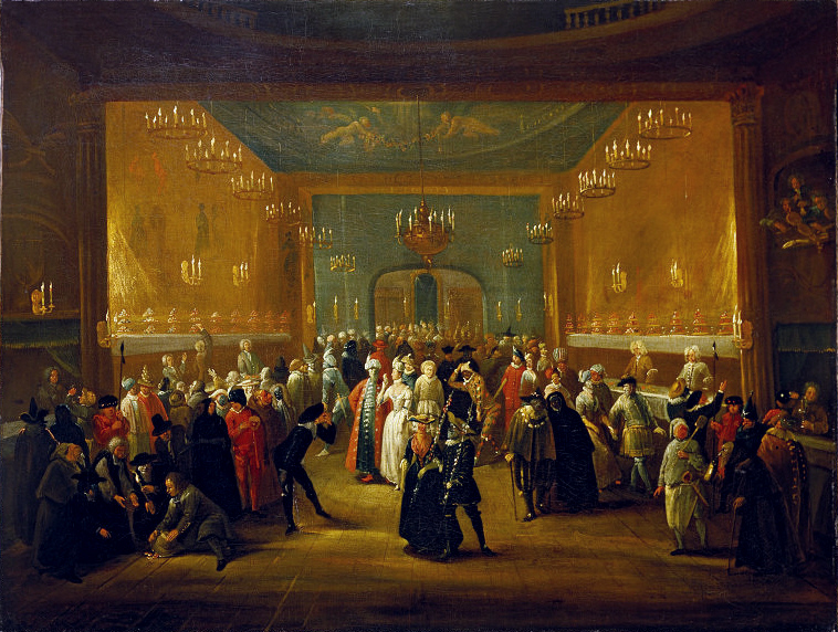 Figure 5. A Masquerade at the King's Theatre, Haymarket (c. 1724)