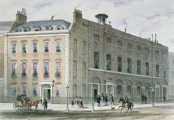 Figure 3. The Hanover Square Rooms, principal venue of Haydn's performances in London