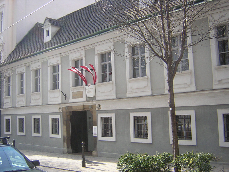 Figure 6. The house in Vienna (now a museum) where Haydn lived in the last years of his life