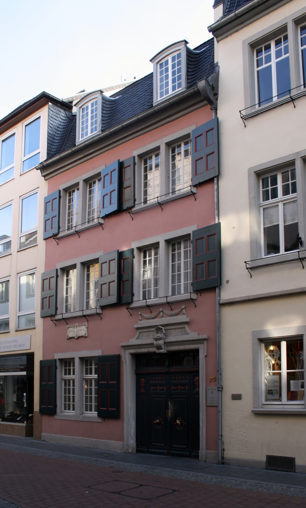 Figure 1. Beethoven's birthplace at Bonngasse 20, now the Beethoven House museum