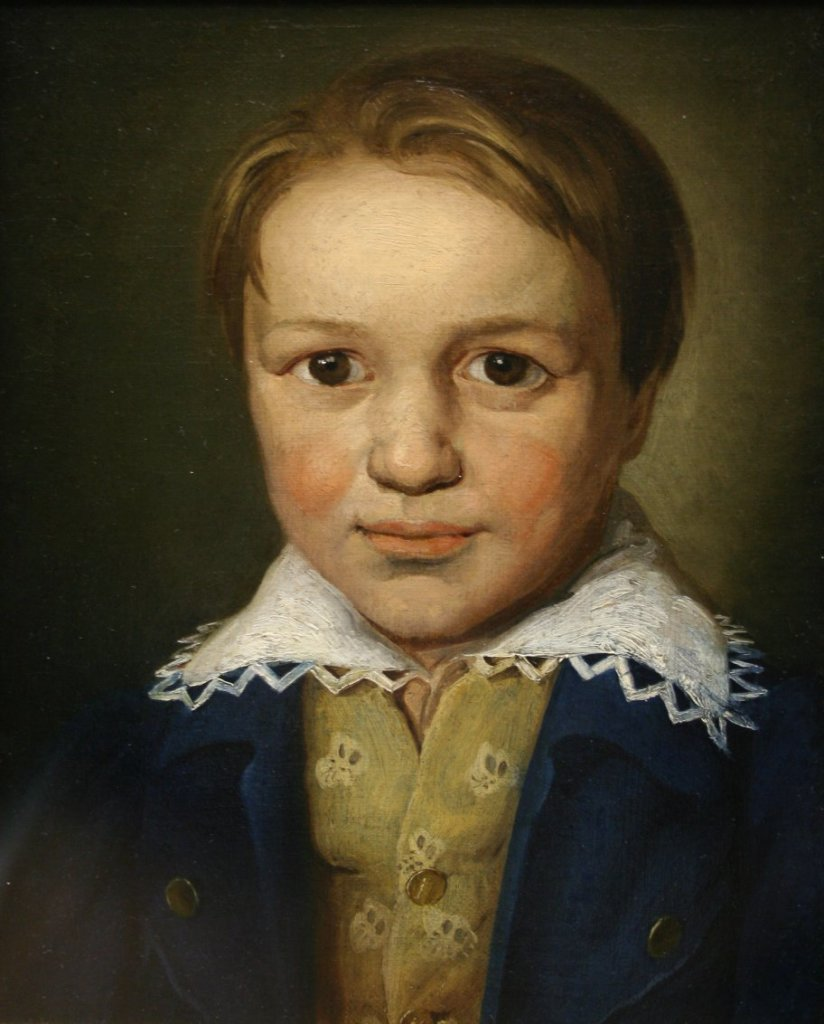 Figure 2. A portrait of the 13-year-old Beethoven by an unknown Bonn master (c. 1783)