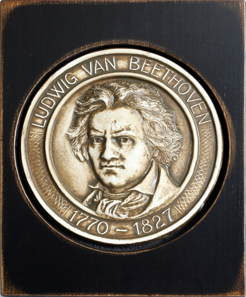 Figure 5. A modern medallion bearing the face of Beethoven