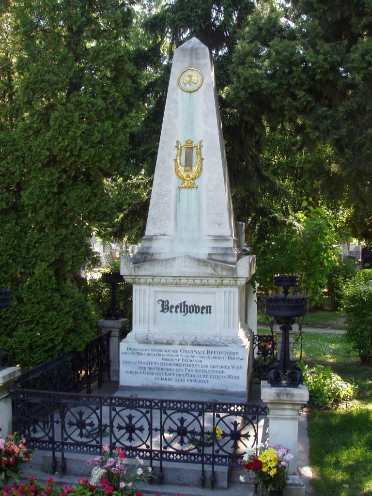 Figure 7. Beethoven's grave site, Vienna Zentralfriedhof