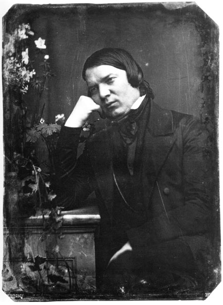 Figure 1. Robert Schumann in an 1850 daguerreotype